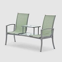 debenhams green 39 havana 39 duo seat. Black Bedroom Furniture Sets. Home Design Ideas