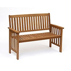 Debenhams - Wooden 'Camillion' bench