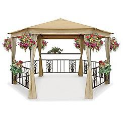 gazebos pavilions garden tents at. Black Bedroom Furniture Sets. Home Design Ideas