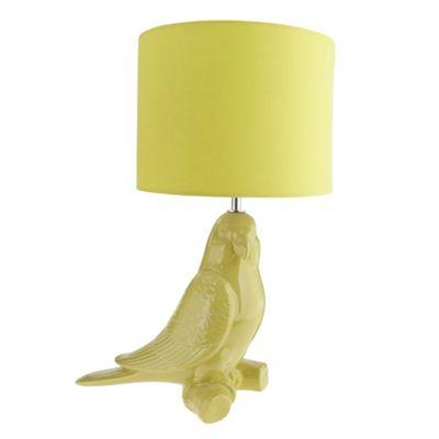 Debenhams Green Parrot Table Lamp