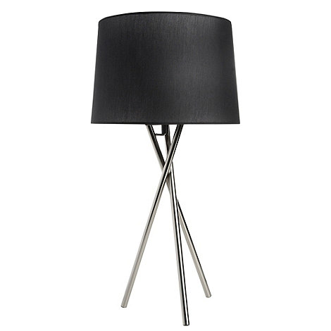 Betty Jackson.Black - Black three legged lamp