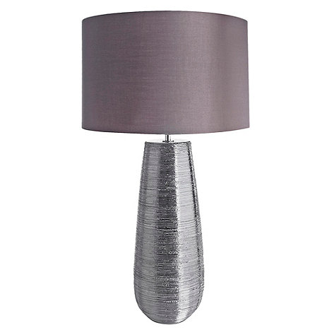 RJR.John Rocha - Grey scratched lamp