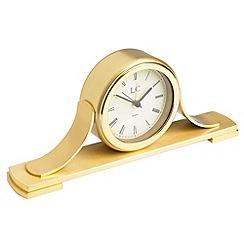London Clock - Golden 'Napoleon' mantel clock