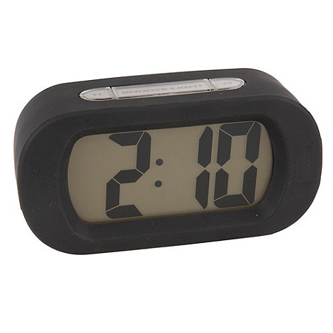 Acctim - Black retro alarm clock