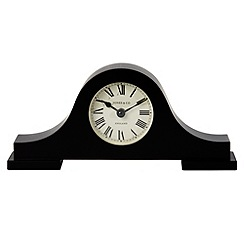 Jones - Black 'Bailey' mantel clock