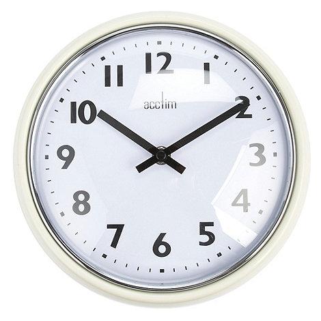 Acctim - Cream wall clock