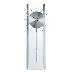 Debenhams - Glass 'Pendulum' wall clock