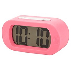Acctim - Pink illuminating soft alarm clock