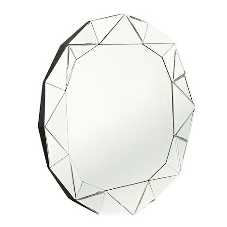Star by Julien Macdonald - Round faceted mirror