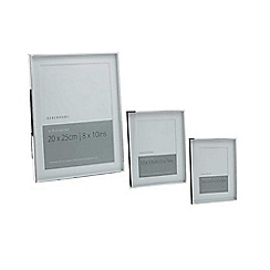 Debenhams - Silver plated 6 x 8 inch photo frame