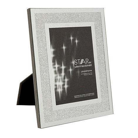 Star by Julien Macdonald - Silver +Mirror Glitter+ photo frames