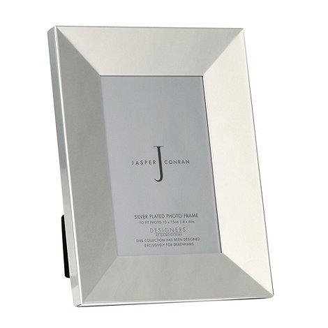 J by Jasper Conran - Silver bevelled photo frame