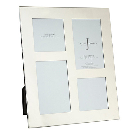 J by Jasper Conran - Silver multi photo frame