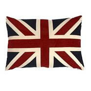 Union Jack canvas cushion