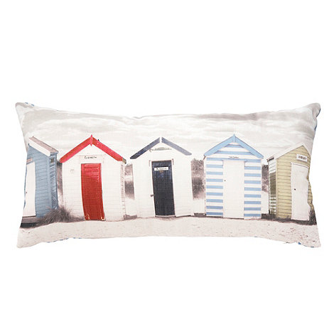 Debenhams - Vintage beach huts cushion
