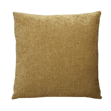 Home Collection - Green large chenille cushion