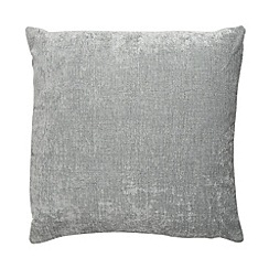 Home Collection - Pale blue large chenille cushion