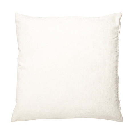 Home Collection - Cream large chenille cushion