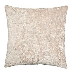 Home Collection - Taupe large chenille cushion