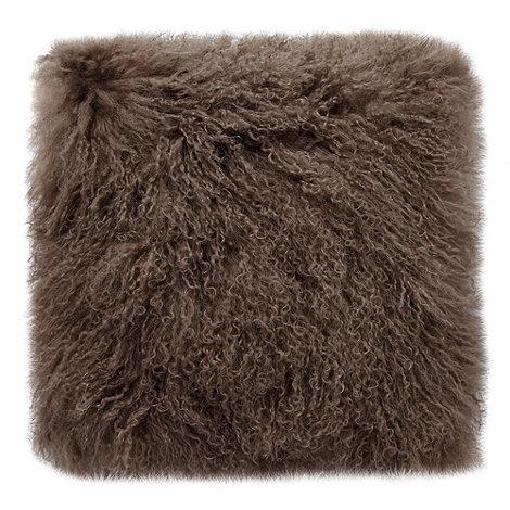 RJR.John Rocha - Natural +Mongolian+ cushion