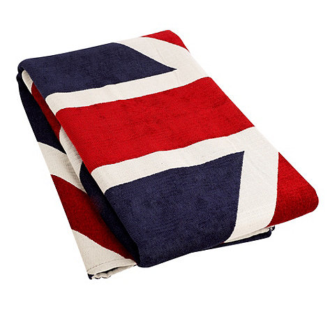 Debenhams - Union Jack throw