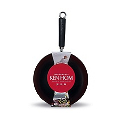 Ken Hom - Performance 28cm non stick carbon steel wok