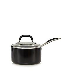 Home Collection - 20cm non-stick aluminium saucepan with lid
