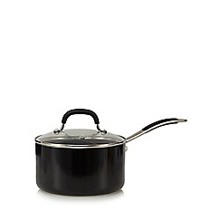 Home Collection - 18cm non-stick aluminium saucepan with lid