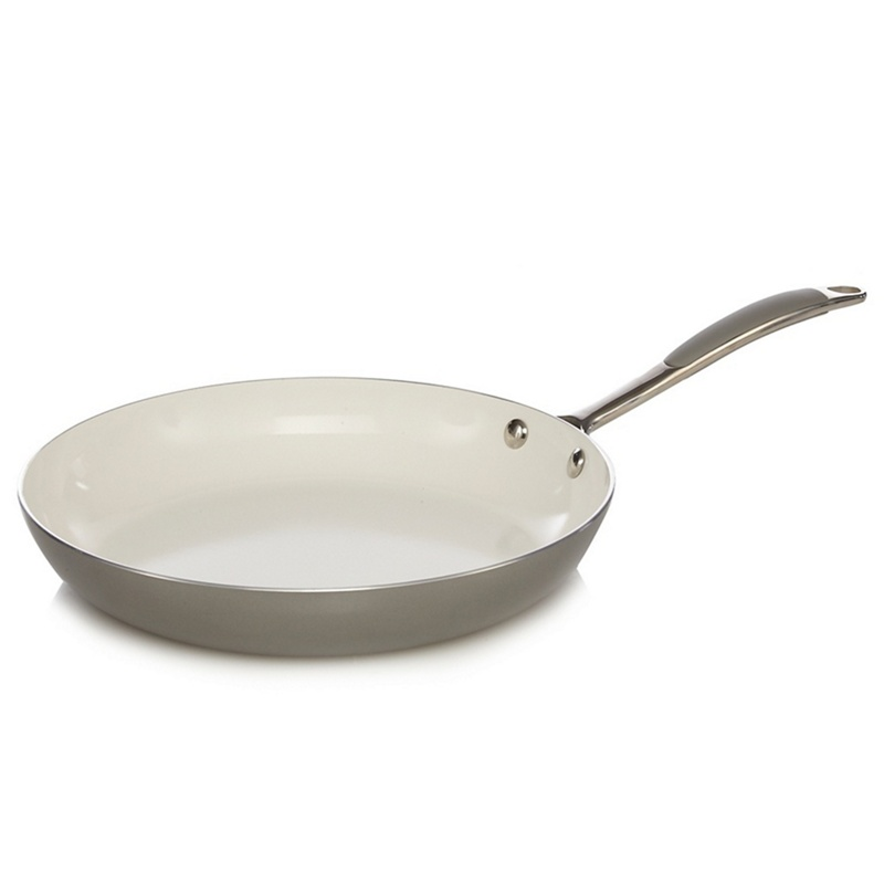 Home Collection Grey Ceramic 28cm Frying Pan