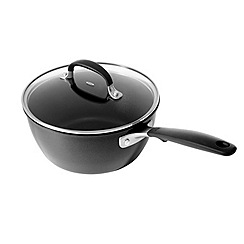 OXO - 'Good Grips' black non-stick 16cm saucepan