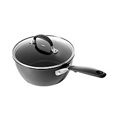 OXO - 'Good Grips' black non-stick 20cm saucepan