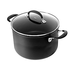 OXO - 'Good Grips' black non-stick 24cm stock pot