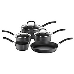 Tefal - Tefal Hard Anodised 5 piece set