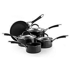 Prestige - Non-stick aluminium 'Inspire' five piece pan set