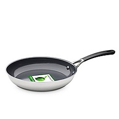 Green Pan - Stainless steel 'Minneapolis' 20cm induction frying pan