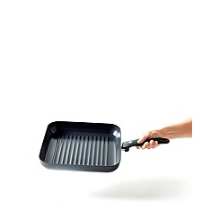 Green Pan - Aluminium gloss 'Cambridge' 28cm induction grill pan