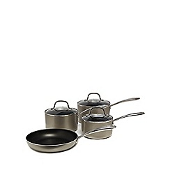 Home Collection - Four piece non-stick saucepan set