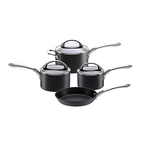 Raymond Blanc by Anolon - Hard anodised non stick +Professional+ 4 piece pan set