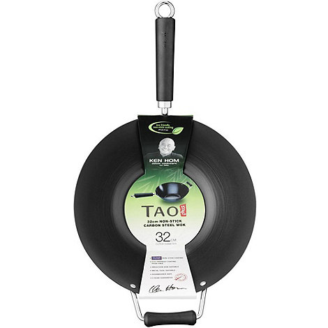 Tao - Black 32cm wok
