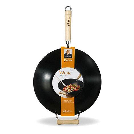 Ken Hom - Black 35cm wok