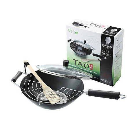 Tao - Carbon steel 4 piece wok set