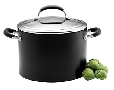 Circulon Elite Elite hard anodised ´Premier´ 24cm covered stockpot - . -