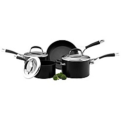 Circulon - Elite Premier non stick hard anodised 4 piece pan set