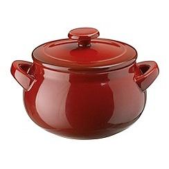 Denby - Stoneware 0.32L 'Cherry' mini casserole dish