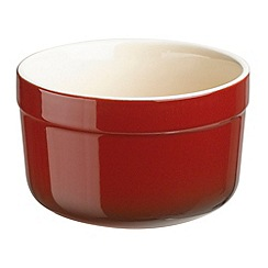Denby - Stoneware 6.5cm 'Cherry' pack of two ramekins