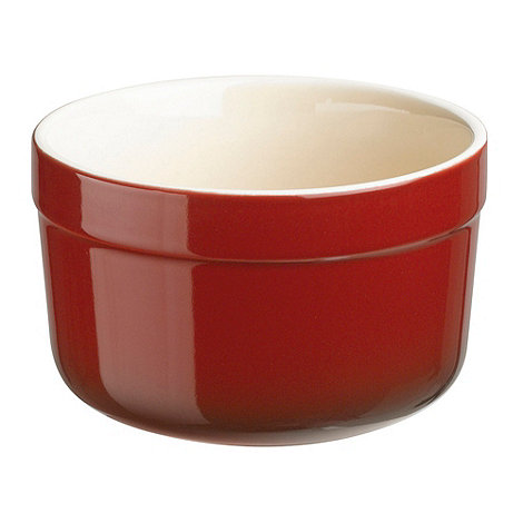 Denby - Stoneware 6.5cm +Cherry+ pack of two ramekins