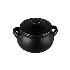 Denby - Stoneware 0.32L 'Jet black' mini casserole dish