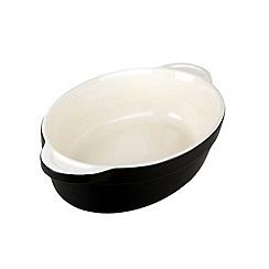 Denby - Stoneware 26cm Jet black oval dish