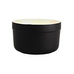 Denby - Stoneware 6.5cm Jet black ramekin dish
