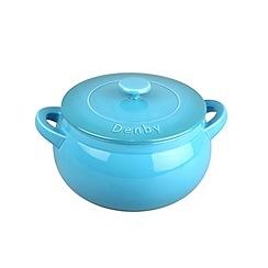 Denby - Stoneware 12cm Azure casserole dish
